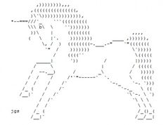 The Legendary, Virginal Unicorn in ASCII Art