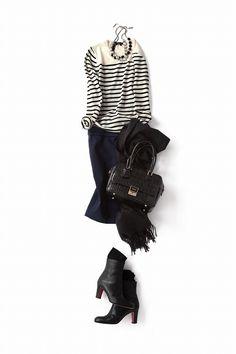 Kyoko Kikuchi's Closet | 今年のタイトスカートはラフに、キュートに着こなしたい!