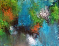 Abstrakt akrylmaleri  Mål 80x100 kontakt@livetsgalleri.dk  mobil:28687035 Se mere www.livetsgalleri.dk