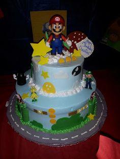Decoración de fiestas de cumpleaños infantiles de Mario Bros