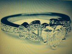 Butterfly Heart Wedding Ring