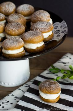 Pumpkin whoopie pies are a fall staple. This pumpkin whoopie pie recipe has an easy two ingredient frosting of marshmallow fluff and cream cheese. Easy and delicious.