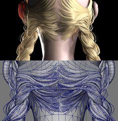Female Character Design, Character Modeling, Character Design References, 3d Character, Sculpting Tutorials, Zbrush Tutorial, Tech Art, Modelos 3d, Modeling Tips