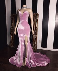 Elegant Pink Velvet Sweetheart Prom Dresses 2019 Mermaid Long Evening Gowns With Slit Item Code: Prom Girl Dresses, Prom Outfits, Plus Size Prom Dresses, Cheap Prom Dresses, Mermaid Skirt, Sexy Dresses, Sequin Prom Dresses, Mermaid Gown, Prom Dresses