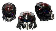 Gross Black + Red Marks + Silver Fangs  = BAD-ASS Helmet Ever!   A Latest for Customer. David - UK   Enjoy Your Trip  ;)  Visit Us Here: https://www.facebook.com/CustomHelmets