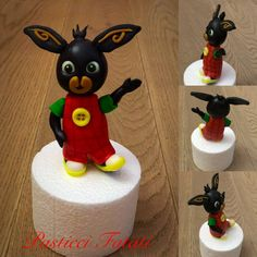 Bing Cake, Bing Bunny, Cake Tutorial, Quilling, 3 D, Projects To Try, Alice, Clay, Birthday Cakes