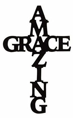 Timeless by Design 'Amazing Grace' Cross Wall Art Cross Wall Art, Metal Wall Art, Cross Wall Decor, Cross Drawing, Cross Silhouette, Wood Burning Patterns, Wood Crosses, Flower Wall Decor, Cross Designs