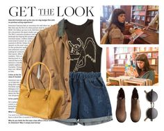 """""""Get the Look: The Diary of a Teenage Girl"""" by ifashiongeek ❤ liked on Polyvore featuring Chicnova Fashion, SHARO and H&M"""