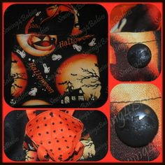 Trick-or-Treat Bags - toddler size - sparkly spiders - spiders - haunted house - cotton bag - trick-or-treat - candy bag - kamsnaps - bats
