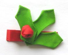Holly Hair Clip Instruction - Hip Girl Boutique Free Hair Bow Instructions--