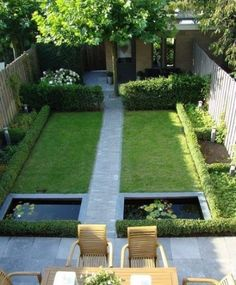 garden ideas for small gardens - great design suggestions Backyard Landscaping Small Courtyard Gardens, Small Gardens, Patio Gardens, Modern Garden Design, Garden Landscape Design, Modern Design, Garden Types, Small Backyard Landscaping, Landscaping Design