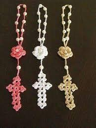 Resultado de imagen para rosario en crochet