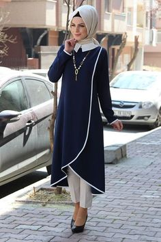 Like the front cuttingmodest but gives you walking room!Hijab Designs - Hijab Style - Arabic Hijab Fashion for girlsEverything you need to start living your best life!Sassy and elegant at the same time. Abaya Fashion, Modest Fashion, Indian Fashion, Girl Fashion, Fashion Dresses, Muslim Dress, Hijab Dress, Hijab Outfit, Modest Wear