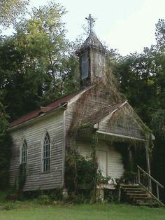 Forgotten Church In South Carolina