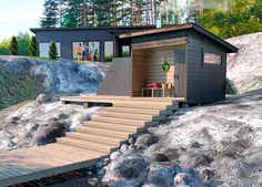 Outdoor Sauna, Sauna Design, Finnish Sauna, Spa Rooms, Park Hotel, Backyard Projects, Cottage, House Design, Cabin