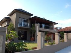 Photo of a concrete house exterior from real Australian home - House Facade photo 450427