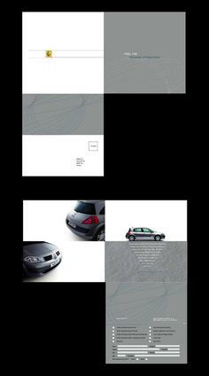 Depliant Renault, direct marketing