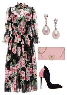 """Untitled #687"" by lovelifesdreams on Polyvore featuring Dolce&Gabbana and Valentino"