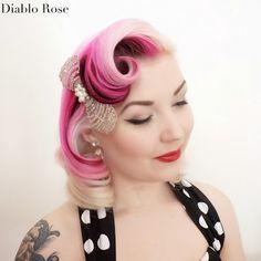 Diablo Rose: Classic Pin Curl Set Tutorial