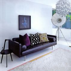 Flexform's Magister sofa is the perfect mix of classic and modern design. t