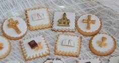 LE TORTE DI ROSY LAI: Prima Comunione ......biscotti decorati ...