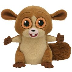 Ty Beanie Baby Mort Madagascar -- For more information, visit image link. (This is an affiliate link) Ty Babies, Beanie Babies, Penguins Of Madagascar, Lemur, Animal Pillows, Big Eyes, Plushies, Baby Photos, Art Pieces