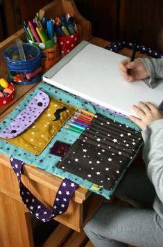 JULIANA GOMES: Kit para colorir.