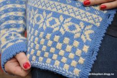 Norwegian Knitting, Lace Knitting, Jumpers, Vests, Charts, Blanket, Detail, Crochet, Pattern