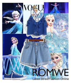 """Love Elsa (contest with prize)"" by loveelsa ❤ liked on Polyvore featuring Disney, Converse and MANGO"