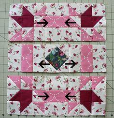 block rows with arrows