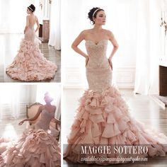 Serencia from @maggiesottero  2015 Spring Collection