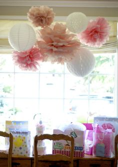 Baby Shower Ideas   #tissuepoms http://www.nashvillewraps.com/tissue-paper/mc-016.html