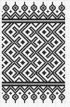 Afghan Crochet Patterns, Weaving Patterns, Mosaic Patterns, Embroidery Patterns, Knitting Patterns, Crochet Cross, Crochet Chart, Cross Stitch Designs, Cross Stitch Patterns