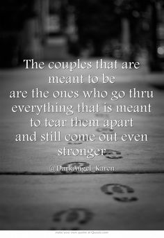 The couples that are meant to be...