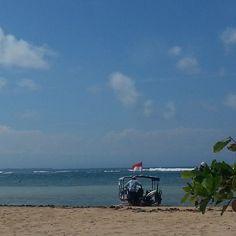 Kayumanis Nusa Dua private beach  Regram @lalarste
