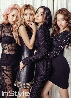 Wonder Girls take on retro style fashion for 'InStyle'   http://www.allkpop.com/article/2016/07/wonder-girls-take-on-retro-style-fashion-for-instyle