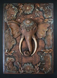 Elephant Journal A5 by Aniko Kolesnikova www.mandarin-duck.com