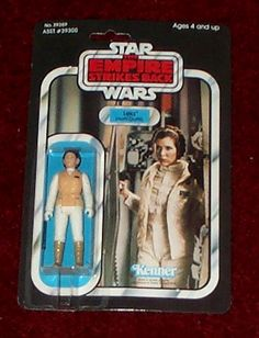 Kenner Empire Strikes Back Action Figure - Leia Hoth Outfit