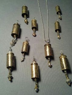 Etched bullet pendants www.etsy.com/shop/eclecticredesigns