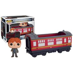 Funko Harry Potter POP Rides Hogwarts Express Carriage With Ron Figure - Radar Toys