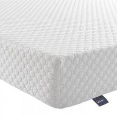 10 cm Memory Foam Cirrus Pillow, White