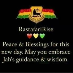 Peace and blessings Rastafari Quotes, Rastafari Art, Reggae Art, Reggae Style, Bob Marley Art, Bob Marley Quotes, Ganja, Jamaican Proverbs, Sabbath Quotes
