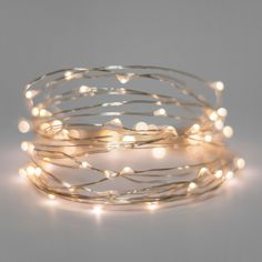for $16.99. 30 count Warm White LED battery operated light strings lit using 3 AA batteries. Ultra thin Silver wire and Fairy lamps make these battery operated lights great for weddings, crafts, and holidays. Price: $16.99