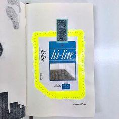 wataru_draw#illustrations #illustagram #drawing  #moleskine #hilite #cigarrete #fluorescence #yellow #space #イラスト #ドローイング #モレスキン #ハイライト #タバコ #蛍光 #黄色 #空間2018/02/21 23:33:17