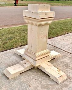 "477 Likes, 25 Comments - Ashley Basnight | DIY Blogger (@smashingdiy) on Instagram: ""I've got pedestal fever..😎#wood #woodwork #elm #woodgrain #buildlikeagirl #buildsomething…"""
