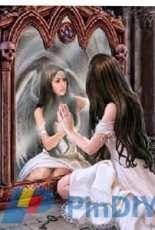 HAED - HAEANSMINI 12377 Mini Magic Mirror by Anne Stokes