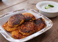 Vegetariska morotsbiffar, en riktig vardagsklassiker som fått högt betyg av många! Få ingredienser, fräscht och lättlagat.