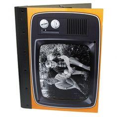 """Werkhaus Shop - Photomappe """"Fernseher"""" - orange"""