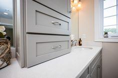 Cabinets on Master Vanity