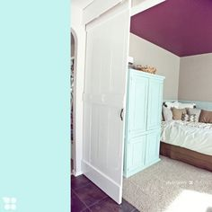 Lots of tutorials on how to do DIY barn doors, this one is the simplest.